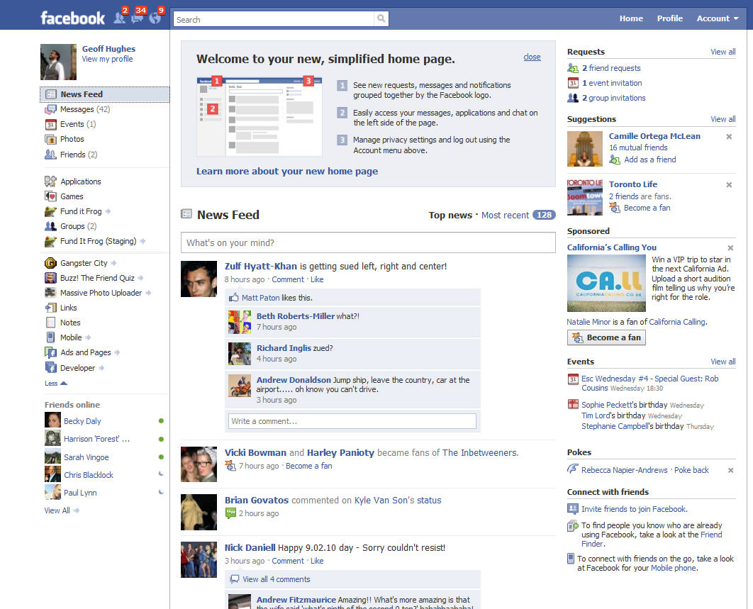 how to change type of page on facebook