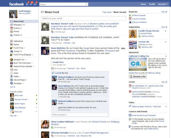 Another Facebook Homepage change - this one is for the better